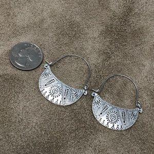 Jewelry - Southwest Style Boho Hoop Earrings